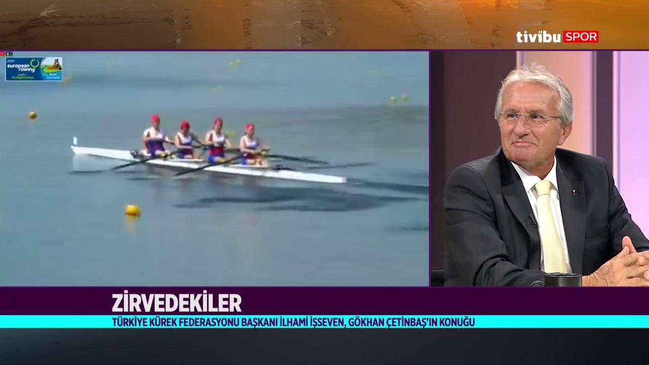 Zirvedekiler | Gökhan Çetinbaş & Türkiye Kürek Federasyonu Başkanı İlhami İşseven