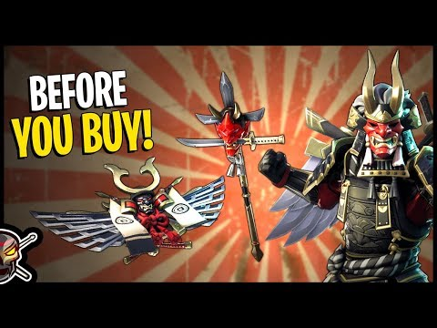 Shogun | Kabuto Glider | Jawblade - Before You Buy - Fortnite