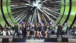 111009 KBS Open Concert   4 Minute   Mirror Mirror+Hot Issue