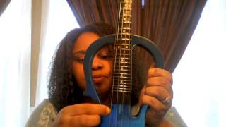 violin tuned like a guitar using open string notes dgbe