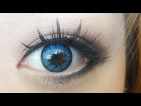 Review Colourvue Big Eyes Cool Blue 15mm Youtube