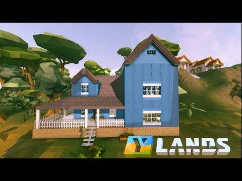 Ylands - Creative Mode - American Dream House (Speed Build)