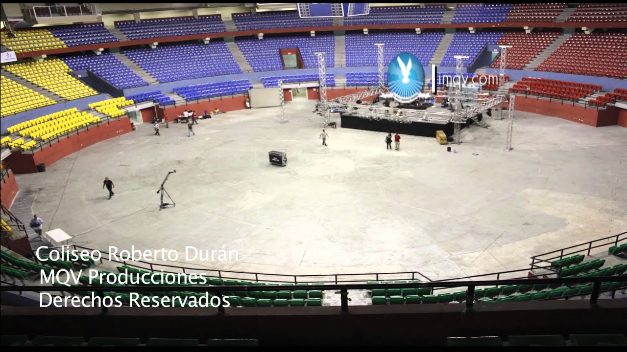 Time lapse arena roberto dur n 2011 youtube for Gimnasio arena