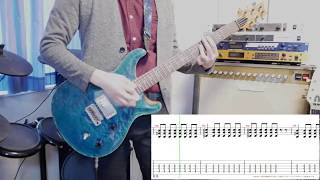 [Tab] Taking you out / PassCode [Guitar 弾いてみた]