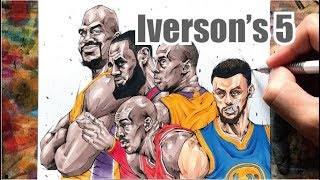 Allen Iverson's ALL-TIME NBA STARTING 5