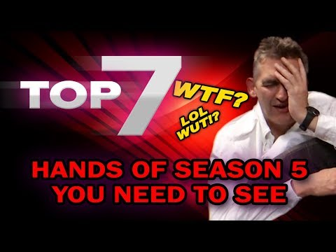 TOP 7 DISASTER POKER HANDS