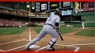 MLB 2K13 - Official Gameplay Launch Trailer - Major League Baseball 2k13 - HD
