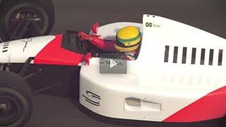 GP Brasil F1 2014 - Vinheta Abertura Rede Globo. (Ayrton Senna)