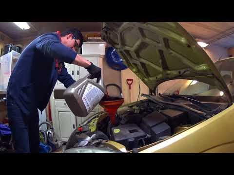 Ford Focus 1 - замена масла АКПП, авто снова едет