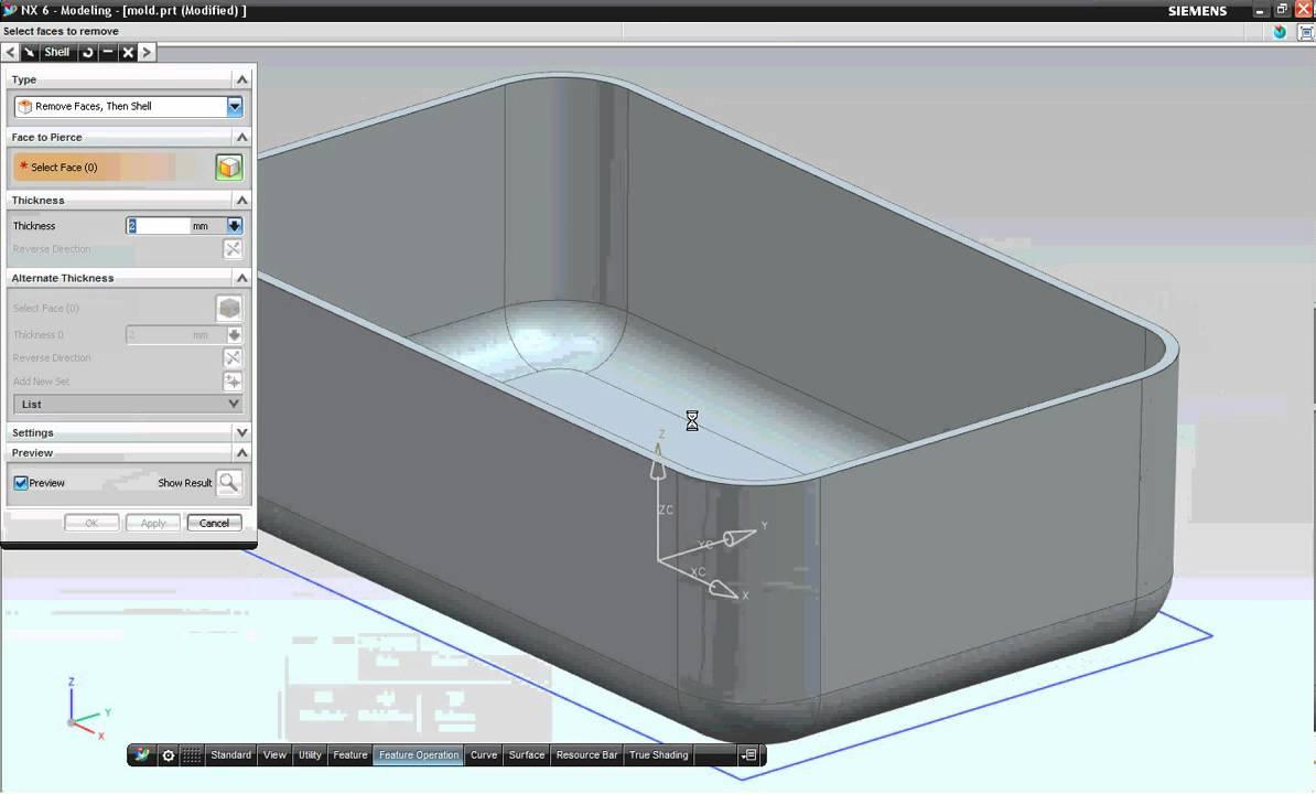 Nx unigraphics tutorial pdf