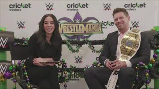 ICYMI: Cricket Wireless hosted a livestream with The Miz at one of ...