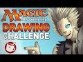 Artists Draw Planeswalkers from Magic the Gathering