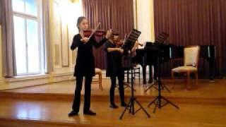 J. F. Mazas - 1. Duo Abécédaire, op. 85, Cah. 1 - II. Andante