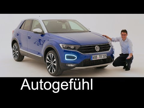 VW T-Roc REVIEW Exterior/Interior all-new Volkswagen compact SUV neu - Autogefühl