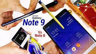 Galaxy Note 9 Durability Test!! - Is it Better Vs Note 8? (Top 5 Reasons) India