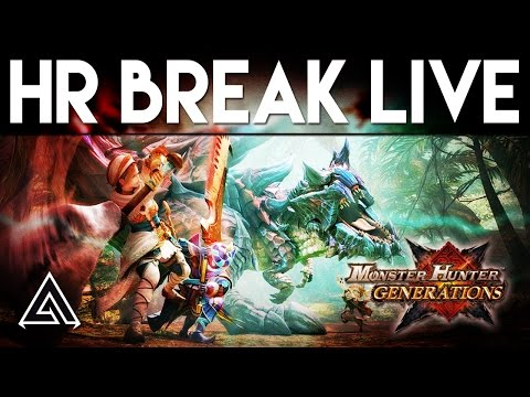 Monster Hunter Generations LIVE! Going for HR Break w/ GaijinHunter + Giveaway