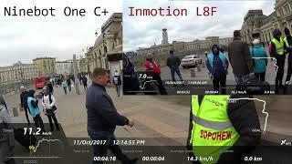 Ninebot One C+ vs Inmotion L8F
