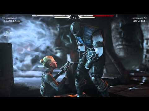 Mortal Kombat X - Cassie Cage nut punch X-ray