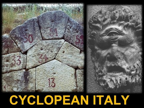 Megalithic Cyclopean Masonry in Italy - Advanced Ancient Ruins Built by the Cyclopes?