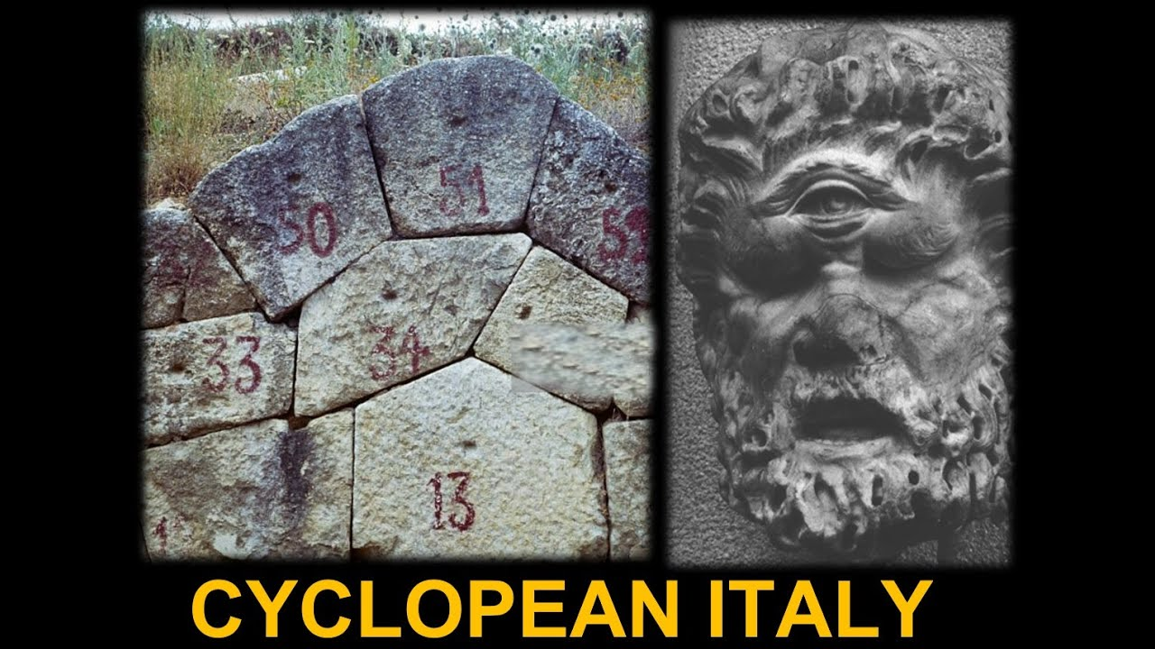 Megalithic Cyclopean Masonry In Italy Advanced Ancient