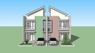 Sketchup House design tutorial