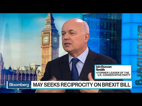 Duncan Smith Says May on the Right Track With Brexit