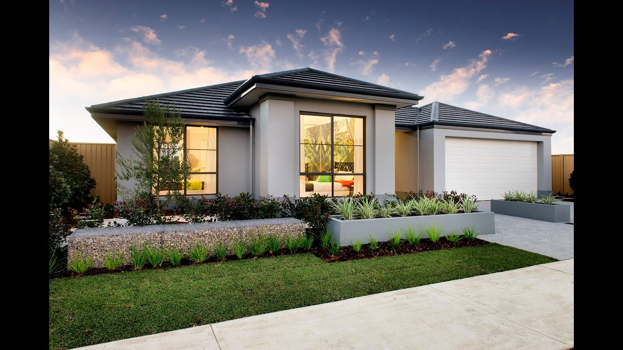 Casablanca modern home design dale alcock homes youtube for Home designs 12m frontage