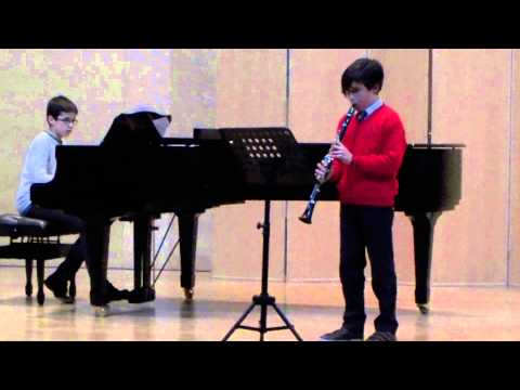 VIEILLE CHANSON FRANCAISE FOR CLARINET TCHAIKOWSKI