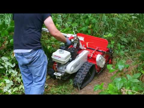 How to Use a Walk Behind Brush Mower - The Cyclone Flail Mower