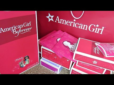 DOLL HAUL! AMERICAN GIRL MELODY ELLISON DOLL, DOLL BED, DOLL ROOM, AND MUCH MORE - DOLL REVIEW