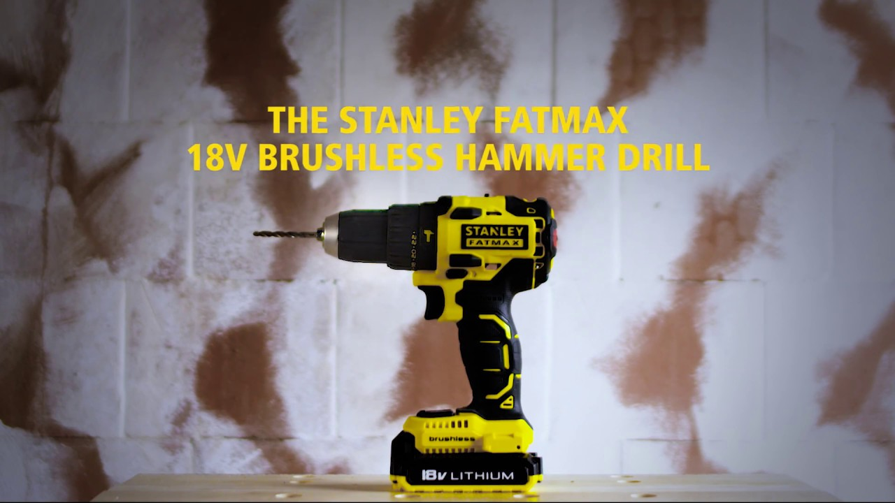 Stanley fatmax 20-volt lithium cordless hammer drill review youtube.