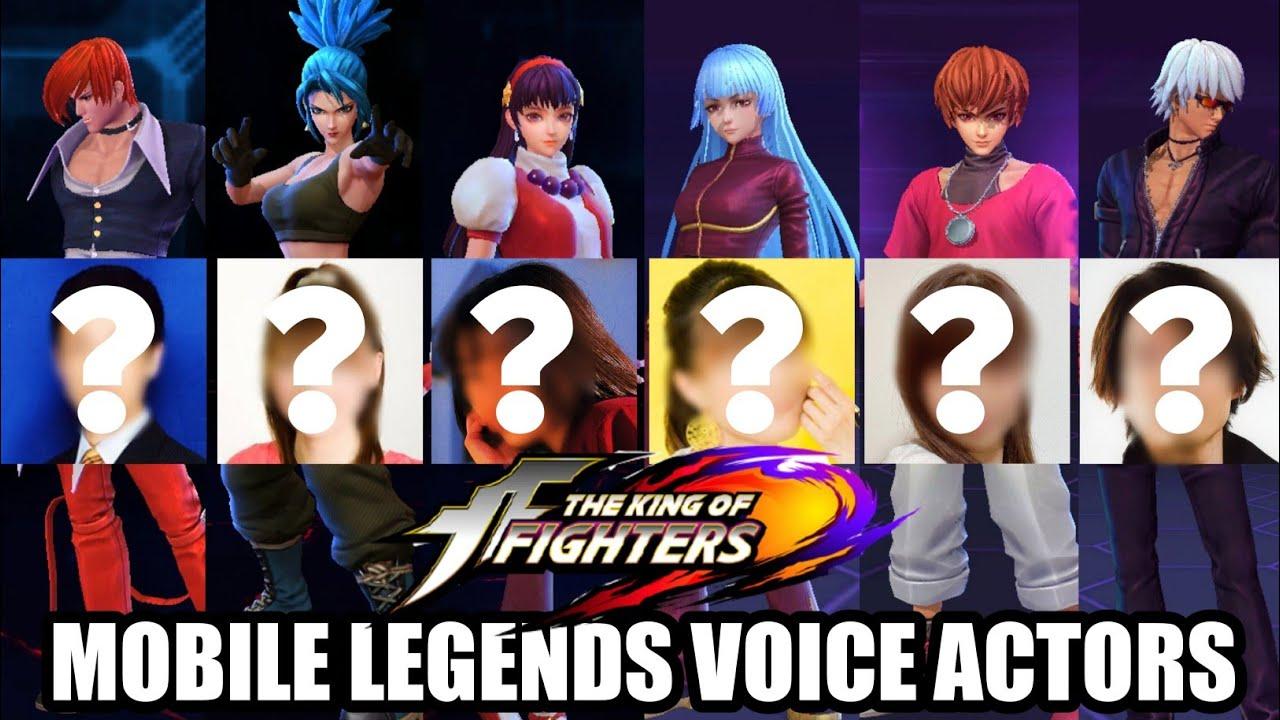 KoF Voice Actors in Mobile Legends