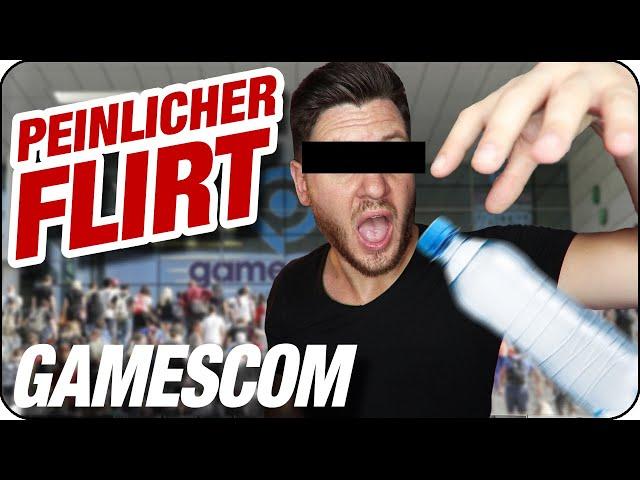 MEIN PEINLICHSTES ERLEBNIS BEIM FLIRTEN 🤦 Insta Fragen von der Gamescom