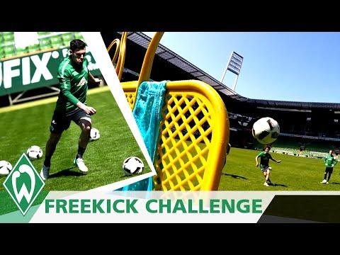 FREISTOSS CHALLENGE 2: Zlatko Junuzovic | Thomas Delaney | Niklas Schmidt | Loui Eta