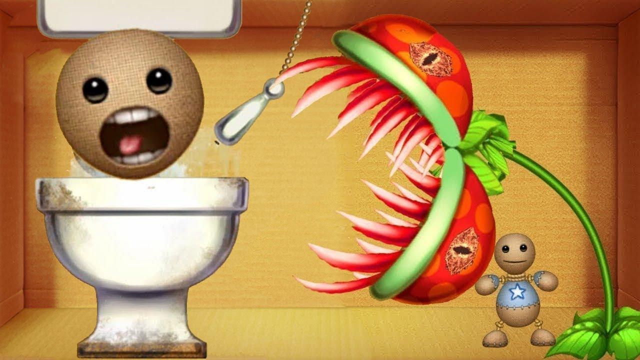 Kick The Buddy 2020   Toilet vs Plants Chomper The Buddy