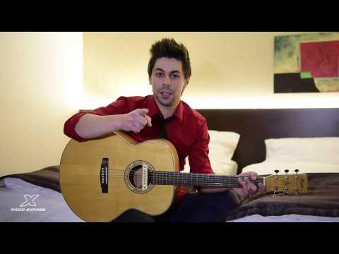 Nalep sa na gitaru Adama Ďuricu