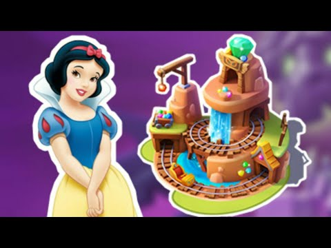 DMK Game Part 162 Welcome Snow White And Build Dwarfs Mine Train (Catch The Play)