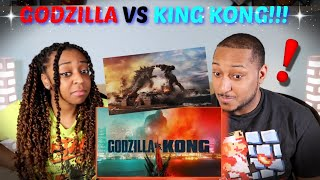 """Godzilla Vs. Kong"" Official Trailer REACTION!!!"
