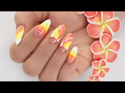 Step By Step Nail Art Video Tutorial