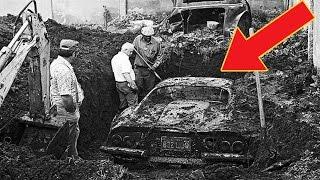 Thật Khó Tin Đi Đào Đất Ngoài Vườn Bất Ngờ Đào Lên Cả Một Siêu Xe Ferrari