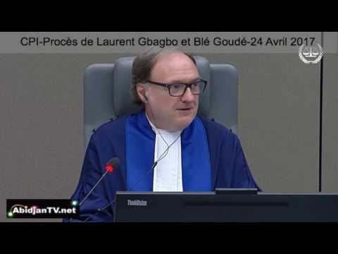 CPI-Audience de Gbagbo, Reprise du proces-24 avril 2017, ce que le juge décide