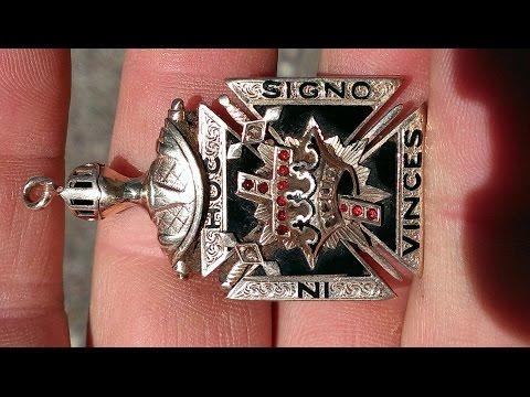 Tesoro Encontrado ! KNIGHTS TEMPLAR Gold, Diamonds, Rubies & Silver ! Metal Detecting