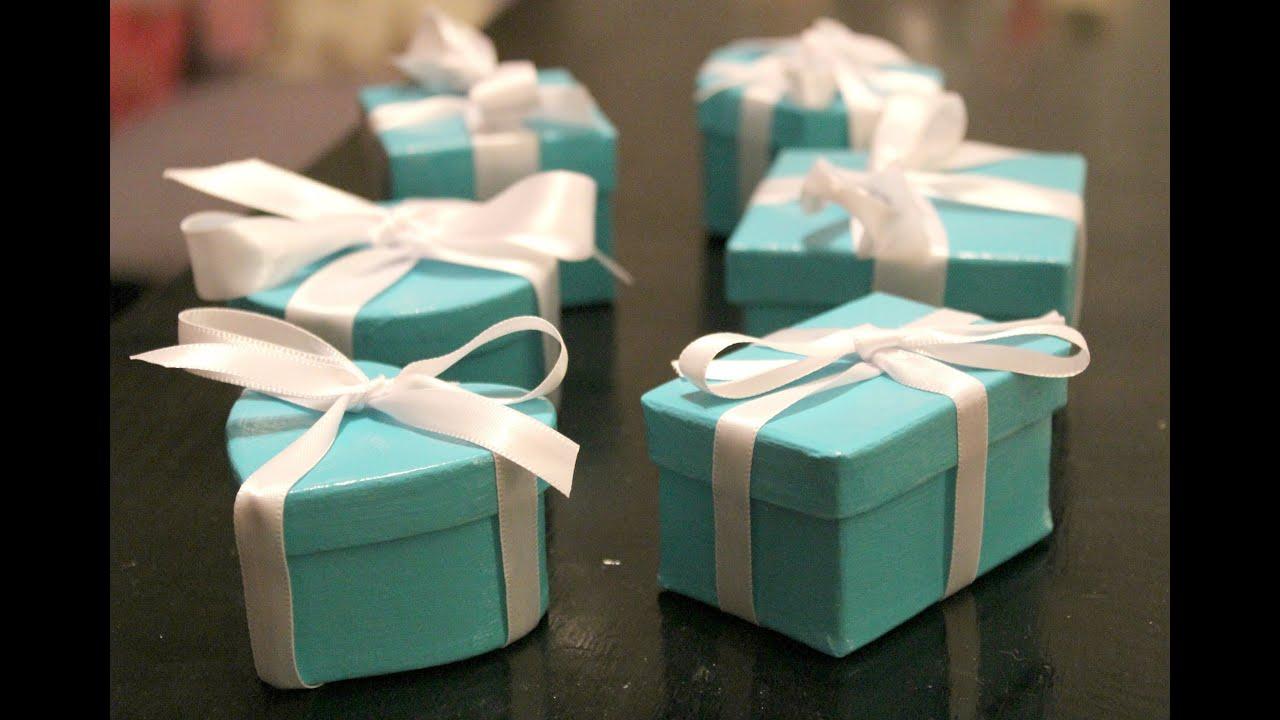 Diy Tiffany Boxes Youtube