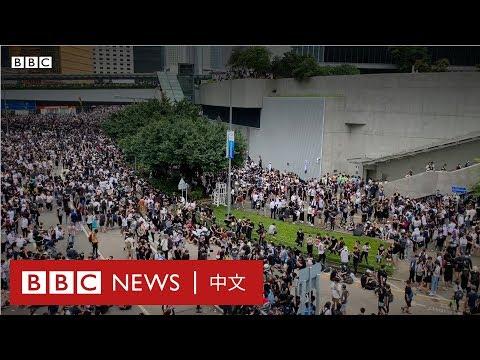 逃犯條例:示威現場人士採訪- BBC News 中文  反送中 