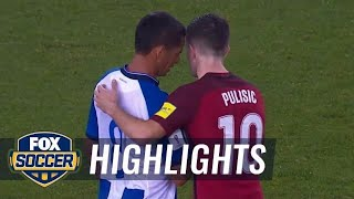 Christian Pulisic vs. Honduras | CONCACAF World Cup Qualifying