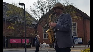 Busking with my Sax VLOG #2