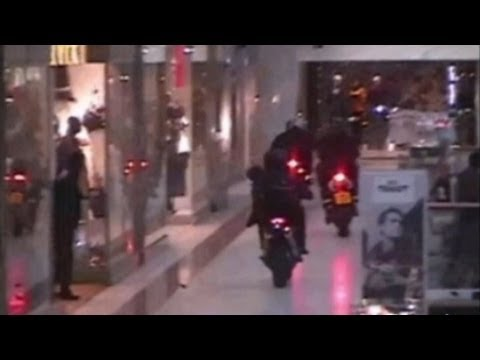 Brazen Robbery on Motorcycles