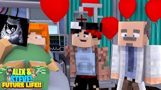 Download Video Minecraft TEENAGE ALEX & HER BAD BOYFRIEND ARE HAVING A BABY??? Future Life of Alex & Steve MP3 3GP MP4
