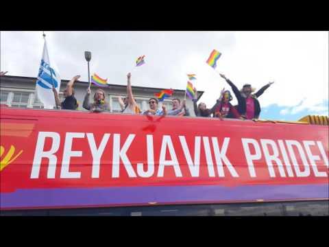 #GayPride in #Reykjavik,#Iceland august 6 2016 .