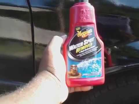 Meguiar's Water Spot Remover Test Review